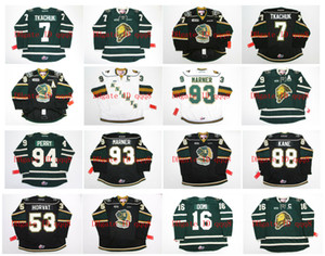 OHL London Knights Trikot 93 MITCH MARNER 7 MATTHEW TKACHUK 53 BO HORVAT 88 PATRICK KANE 49 MAX JONES 16 MAX DOMI 94 COREY PERRY Hockey