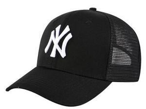 Nuevos sombreros de Nueva York para hombre caliente Logotipo de NY Casquette Mujer Strapback Todos los equipos Sombrero de béisbol Bordado Snapback Deportes Chapeu envío de la gota 08