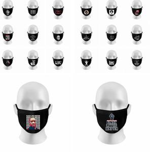 I Cant Breathe Maschera Viso protesta copertura Facemask panno Black Mask lavabile BLM nero Abita Materia cotone maschera LJJK2219