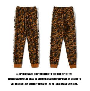 Nuovo arrivo Autunno Inverno Lover Coffon Camo Sport Hip Hop Cotone Pantaloni Uomo del fumetto delle donne stampano i pantaloni allentati
