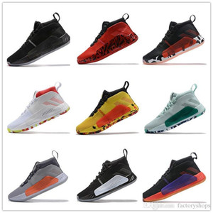 Hot Sale 2019 D Lillard Dame 5 Mens basketball shoes Men High Quality Crazy BYW VIP Multicolor Designer Trainers Sneakers Size EUR 40-46