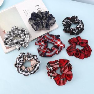 9 Colors Women Girls Leopard Color Cloth Elastic Ring Hair Ties Accessories Ponytail Holder Hairbands Rubber Band Scrunchies 2491#