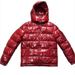 Mens конструктора пальто с капюшоном Осень Зима ветровка пальто вниз Толстого Luxury Hoodie Outwear Luminous куртка Азиатского размером Мужской одежда