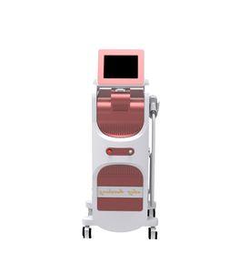 Profesyonel hastane güzellik makinesi hızlı performans için yüksek performanslı 808nm diyot lazer üçlü dalga boyu güzellik makinesi