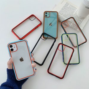 Shockproof Transparent Clear Hard Back Case For iPhone 11 Pro Max XS Max XR X 8 7 6 Plus 6S Protection Armor Cover