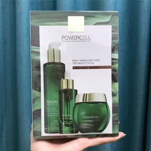 Haftalık toptan PowerCell Skinmunity yüz bakımı Seti sinde Losyon Nemlendirici Krem Nemlendirici Cilt Bakım 3pcs / set 200ml + 50 ml + 50 ml