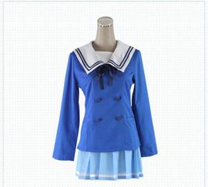 Beyond the Boundary Outfit Clothes Kuriyama Mirai anime Cosplay Costume Clothes Dress Set Kuriyama Mirai Cosplay Uniform