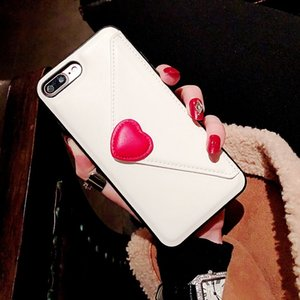 Suitable for iPhone 11pro max imitation leather love coin purse mobile phone case