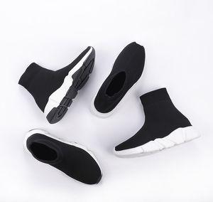 2020 Nuovo ad alta velocità qualità Trainer di lusso degli uomini Donne Y Designer Sneakers Nero Bianco Piattaforma SCARPE casual Calzino Runner