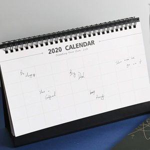 Cute Lonely Planet Coil Paper Calendar Large Desktop Calendars Daily Schedule Planner Agenda Organiz Christmas Decorations