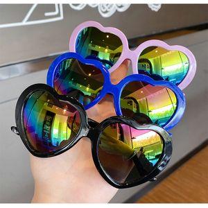 toddler sunglasses for kid gafas de sol para ninos Triple White Oversized Heart Shaped Retro Sunglasses WhlzH