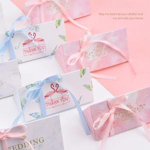 10 piezas de decoración de bodas Caja de dulces Decoraciones para fiestas de cumpleaños Regalos Suministros nupciales para eventos