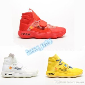 TOP Ten Mens Designer Running Shoes OFF HYPER DUNK 2017 FOAM White HYPER DUNK 2017 Basketball Shoes Sneakers For Men Women shoes