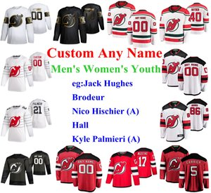 S-6XL 2020 All-Star Game New Jersey Devils Hockey Jerseys Janne Kuokkanen Jersey Michael McLeod Rooney Miles Wood Pavel Zacha Custom Stitch