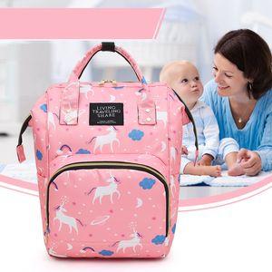 Diaper Bag Maternidade Fralda Mochila Grande Capacidade Enfermagem Viagem Backpack preservação do calor dropshiping