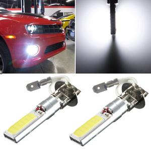 최고의 가격 H3 COB LED 슈퍼 밝은 흰색 자동차 자동차 DRL 운전 안개 HeadLight 주차 빛 램프 전구 DC12V