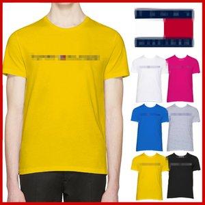 2020 Designer Luxury High-end summer men's T-shirt cotton short-sleeved men's T-shirt top