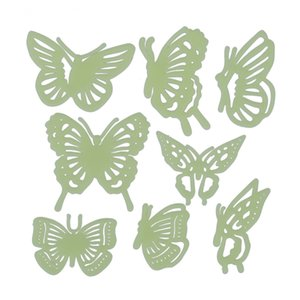 HOT-Home Decal Glow In The Dark Bedroom Corridor Ceiling Wall Fluorescent Stickers (Butterfly)