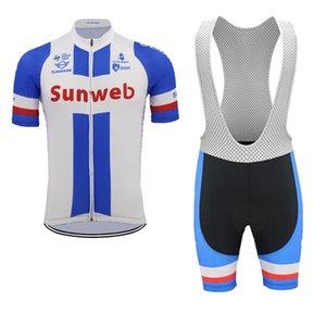 2019 جديد sunweb فريق الرجال الدراجات جيرسي مجموعات الصيف تنفس mtb دراجة قميص الدراجة مريلة السراويل دعوى في الرياضة موحدة Y061805