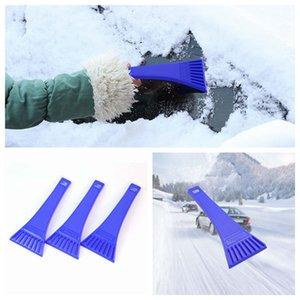 Outil de nettoyage portable glace Pelle grattoir Pare-brise neige Véhicule fenêtre Raclette pour voiture Grattoir ZZA1506-4