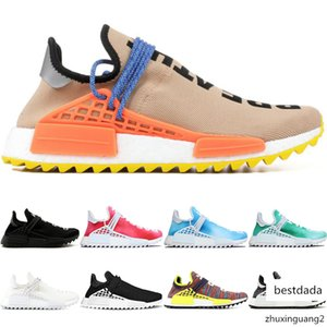 Human Race Trail Running Shoes Men Women Pharrell Williams Hu Runner Peace Passion Younth China Limited Mens Casual Sport Sneaker Size 5-12