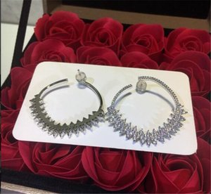 jewelry S925 sterling silver stud earrings for women hot fashion Christmas Gift Free Shipping