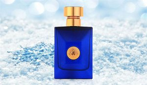 Highend marca Sea God eau de toilette spray de natureza para homens 100 ml clássico fragrância garrafa azul tempo duradouro spray.