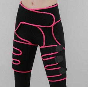 Corpo 3-em-1 da cintura e da coxa Trimmer por Mulheres Bundas Lifter cintura instrutor Slimming Suporte Belt Hip Levante Coxa Aparadores KKA7833