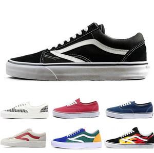 Van old skool İndirim Orjinal Marka hi Kaykay ayakkabı sk8 siyah, mavi, kırmızı Klasik erkek kadın rahat ayakkabı Koşu