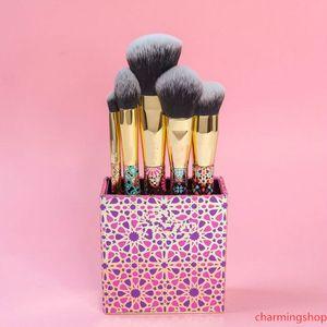 Artful Aksesuarları Fırça Seti Makyaj Fırçası 5 ADET / Set Profesyonel Güzellik harmanlayan Pudra Fondöten Göz Çevresi Fırçası DHL ücretsiz gönderim