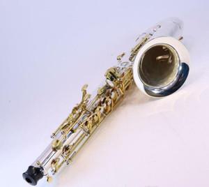 Jupiter Modello JTS-1100SG Intermedio Tenor Saxophone Bb Tune argento placcato SN YF01860 DISPLAY modello con accessori