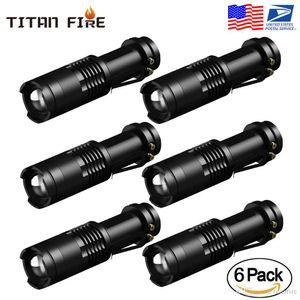Einstellbarer Fokus tragbare Mini-Taschenlampe Q5 2000 Lumen LED Taschenlampe Laterne Arbeitslampe 14500 Linterna