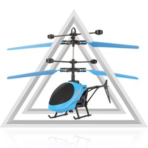 Kid RC Plane Toy USB Rechargeable Infrared Induction Helicopter Three Seconds Start Hand Suspension Aircraft Toys For Children