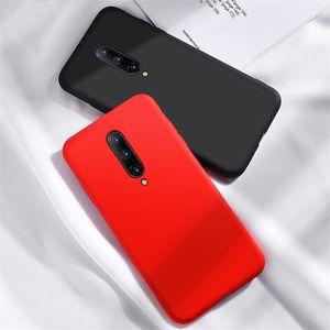 Para OnePlus 8 Caso Um plus 8 Pro suave silicone à prova de choque Bumper Case Voltar telefone líquido em OnePlus 6 7 t 7t 8 Pro Case Capa