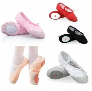 Kids Girls Ballet Dance Shoes Children Canvas Ballet Dancing Shoes Girls Casual Shoes Big Kids Soft Sole Pumps Toe Shoe Flat Sneakers