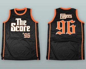 В Бежки #96 баллов ретро баскетбол Джерси синий Джерси мужская сшитые на заказ Имя номер кофта