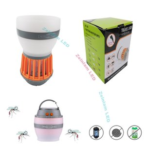 Household Mute USB Mosquito Killer Photocatalyst LED Lamp Bug Zapper Night Light Safty Repellent Killer Insecticidal camp lights