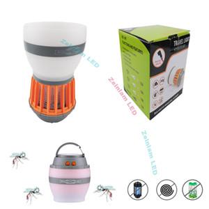 luzes acampamento Household Mute USB do assassino do mosquito fotocatalisador LED Lamp Bug Zapper Night Light Safty Repelente assassino Insecticidal