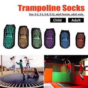 500pairs Trampolín Calcetines antideslizantes de silicona deportes al aire libre Calcetines Yoga Pilates cómodo calcetín Señora Barco Calcetines antideslizantes del calcetín del tobillo corto