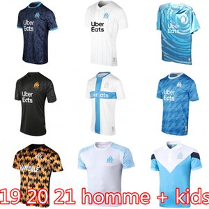 Tayland OM Olympique de Marseille futbol forması 2019 2020 Marsilya Maillot ayak BENEDETTO PAYET SANSON 19 20 21 THAUVIN gömlek de