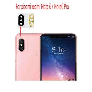 pour Xiaomi Redmi Note6 Note 6 Pro Lentille en verre de caméra arrière Lentille en verre de caméra arrière avec colle Pièces de rechange pour réparation de remplacement