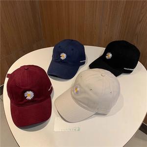남성 여성 조절 브랜드 모자 비니 높은 돔 품질 1에 대한 데이지 패션 디자이너 모자 거리 야구 모자 공 모자