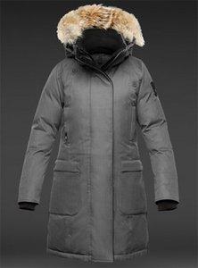 New Women's MERIDETH Down Jacket Parka Canada Outerwear Goose Coat Down Parka Women High Womens Doris Winter Jackets Femme Quality Orpca