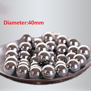 5pcs / lot الحرة الشحن ديا 40MM الصلب واضعا الكرة كرات الصلب الدقة G16 القطر 40MM