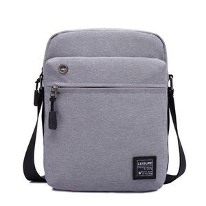 Повседневный мужчина сумка нового бизнеса одиночного мешок плеча, Мужской Малого Satchel IPad сумка мешок Мода простого мешок CJ191130