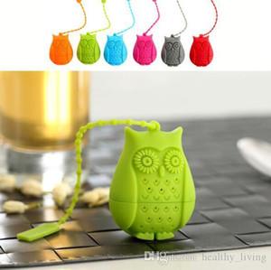 البومة infuser الشاي مع أسلوب لطيف للصحة التخسيس شرب الشاي مصفاة تصفية الغذاء الصف كرر استخدام صديقة للبيئة 999