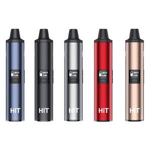 Authentische Yocan Hit Dry Herb Vape Pen Kit 1400mAh Batterie-Keramik Heizung Ofen Temperaturregelung Intelligente Vaporizer 5 Farben