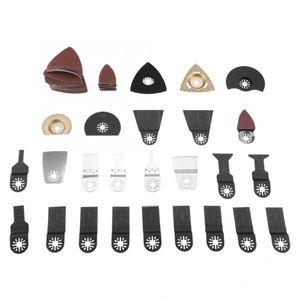 100шт Saw Blades Качающиеся несколько инструментов комплект принадлежностей для дома DIY Saw Blades Kit высокого качества