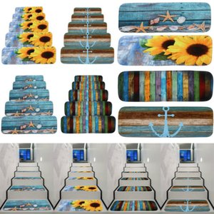 3D Entrance Stair Riser Staircase Wall Sticker Photo Mural Scenery Home Decal