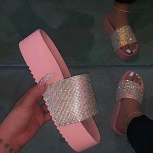 Oeak Kadınlar Bling Yüksek Topuk Pompaları Bayanlar Katır Düğün Ayakkabı Takozlar Slaytlar Parti Sandalet Platformu Terlik Peep Toe Flip Flop
